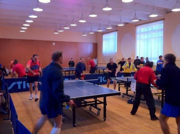 Алушта проведет соревнования по настольному теннису