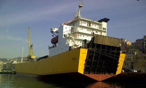 На морские линии для снабжения Крыма пустят дополнительные паром и сухогруз