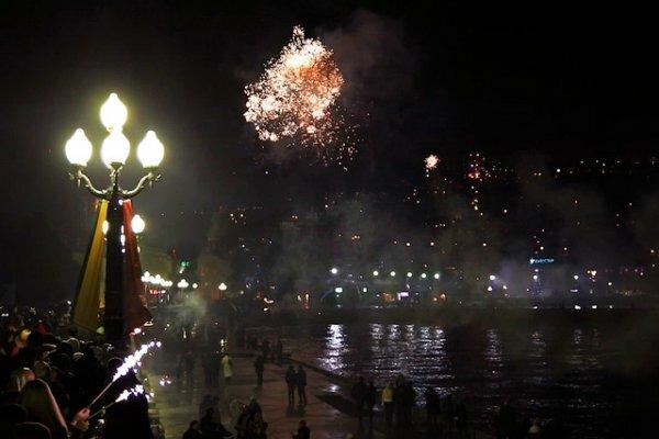 Новогодние гуляния в Ялте продлятся больше двух недель