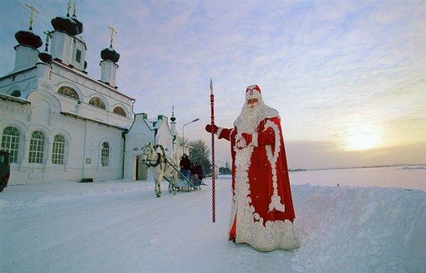 Российский Дед Мороз приедет в Крым в начале января