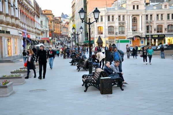 За рядом улиц в центре Симферополя закреплен статус пешеходной зоны