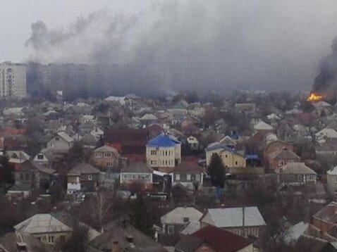 Начались бои за Мариуполь (ФОТО) (ВИДЕО)