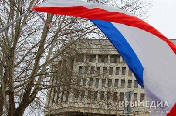 Российский Крым впервые празднует День своего флага