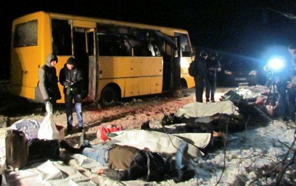 Водитель автобуса Донецк — Мариуполь рассказал, откуда были выстрелы (ВИДЕО ...