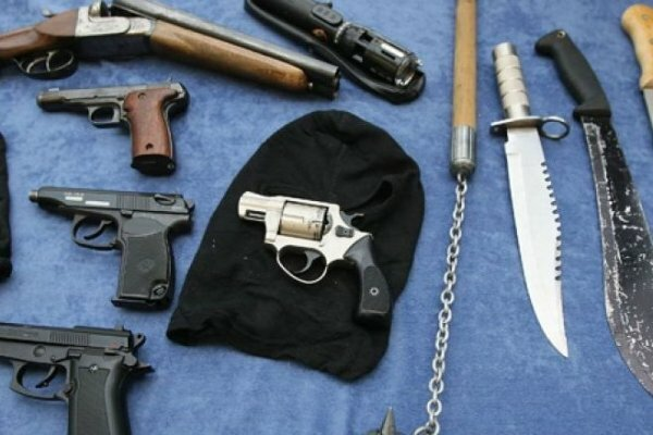 ФСБ обнаружила в Крыму схроны с оружием для организации массовых беспорядко ...