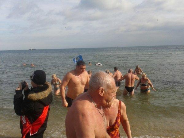 На слет в Феодосии соберется сотня моржей