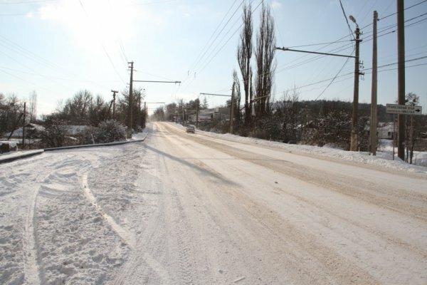 На участке трассы Симферополь — Ялта осложнено движение