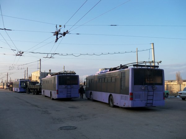 С марта в Севастополе вырастет тариф на проезд в троллейбусе
