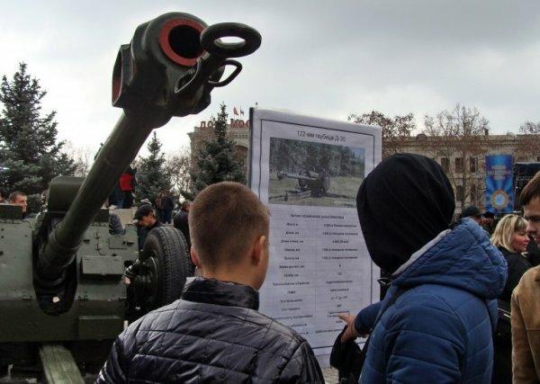 В Севастополе на День защитника Отечества покажут выставку боевой техники