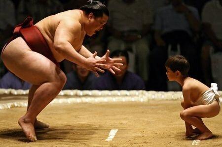 На выходных в Ялте пройдет детское первенство сумо